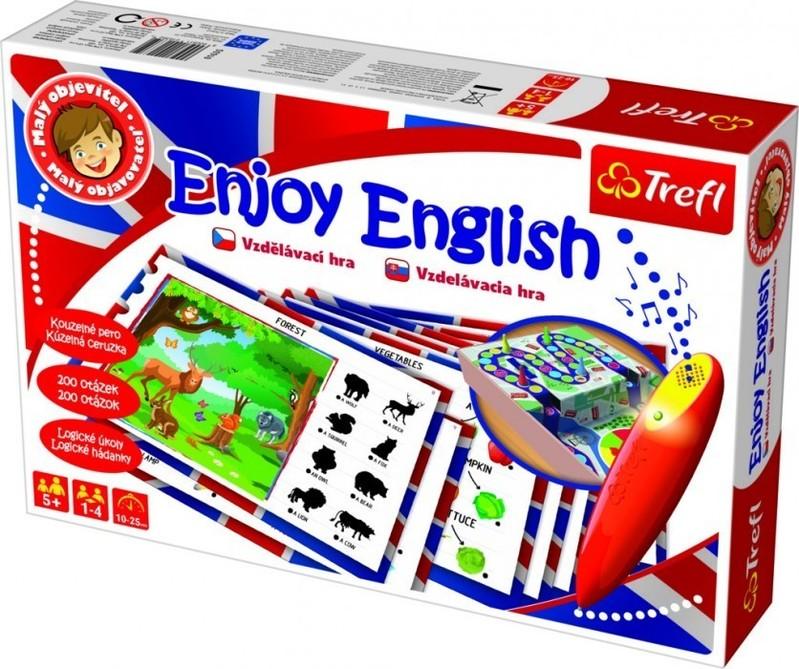 TREFL - Edukačná hra Malý objaviteľ Angličtina