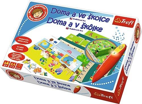 TREFL - Edukačná hra Malý objaviteľ Doma a v škôlke