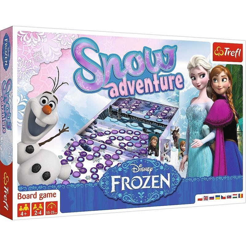 TREFL - Frozen 2 spoločenská hra Snehové dobrodružstvo