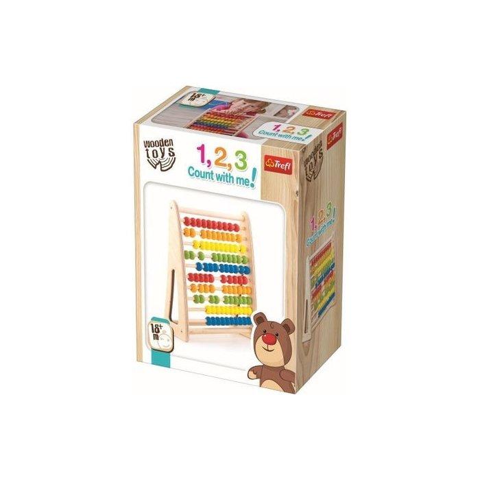 TREFL - Hra drevená -počítanie