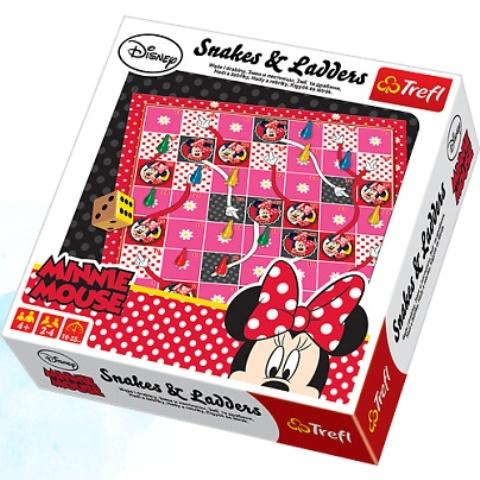 TREFL - Hra Minnie Mouse Hady a rebríky