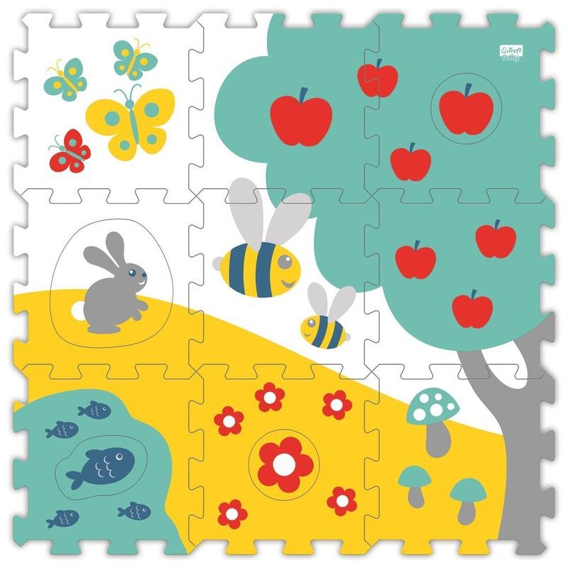 TREFL - Moje prvé penové puzzle - Lúka