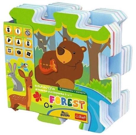 TREFL - penové puzzle Les