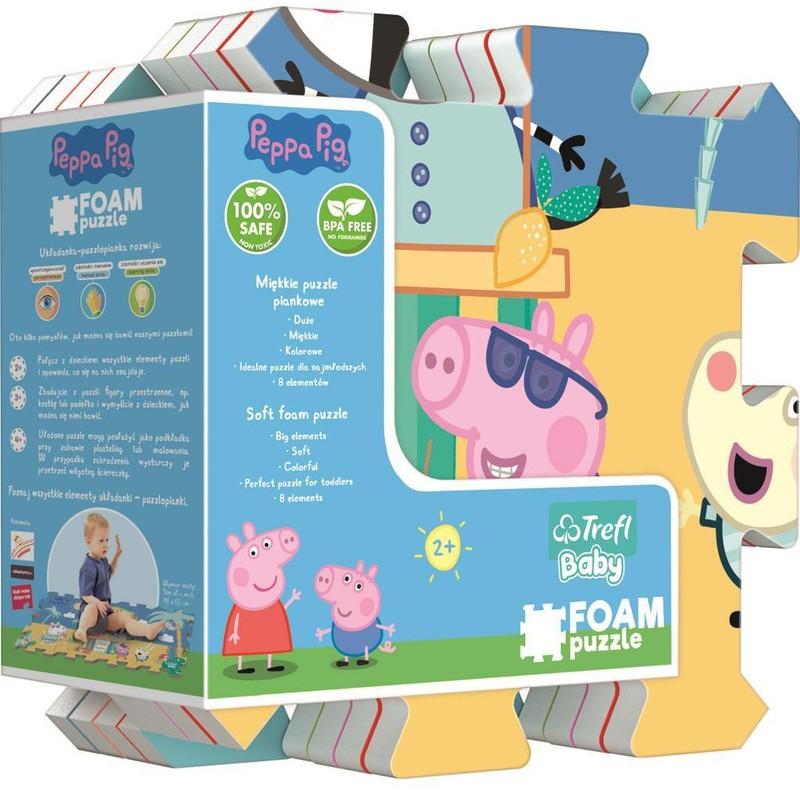 TREFL - Penové puzzle Peppa Pig leto