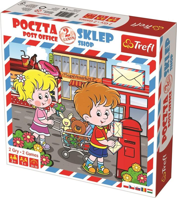 TREFL - Pošta a obchod 2v1