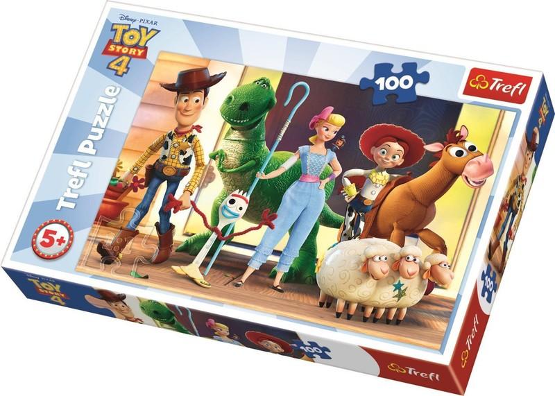 TREFL - Puzzle 100 Poď sa hrať! Toy Story