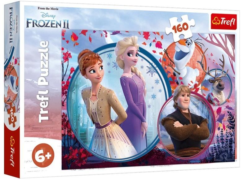 TREFL - Puzzle 160 Disney Frozen 2
