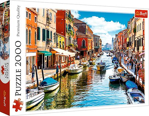 TREFL - Puzzle 2000 Ostrov Murano, Benátky