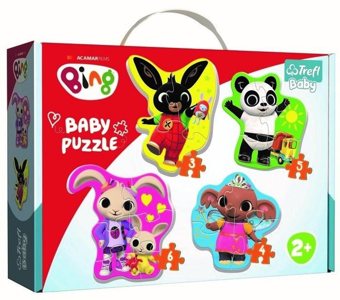 TREFL - puzzle Baby Classic Bing a priatelia