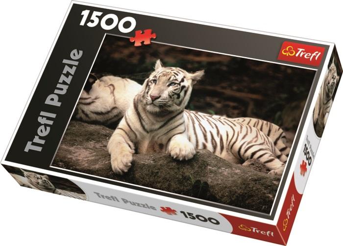 TREFL - Puzzle Bengálsky biely tiger.