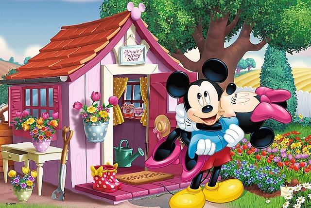 TREFL - Puzzle Disney Mickey a Minnie v záhrade 60