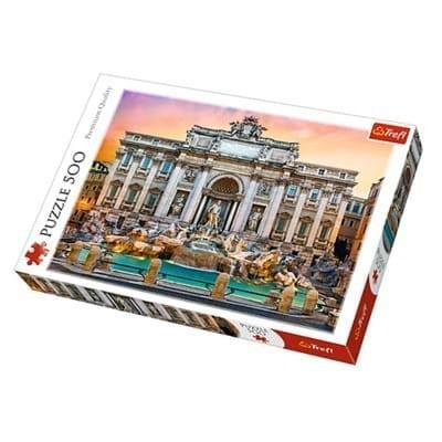 TREFL - Puzzle Fontana Di Trevi Rím 500