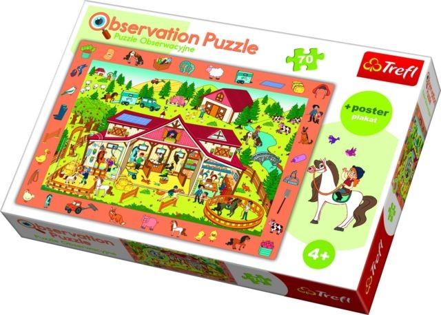 TREFL - Puzzle Observation Konská farma 70