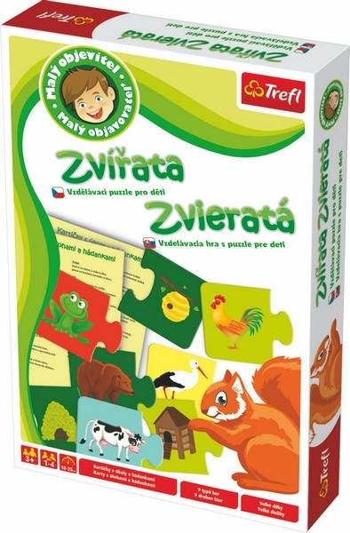 TREFL - Puzzle pre deti - zvieratká