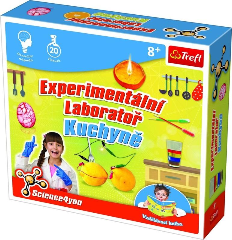 TREFL - Science4you Experimentálne laboratórium Kuchyňa CZ