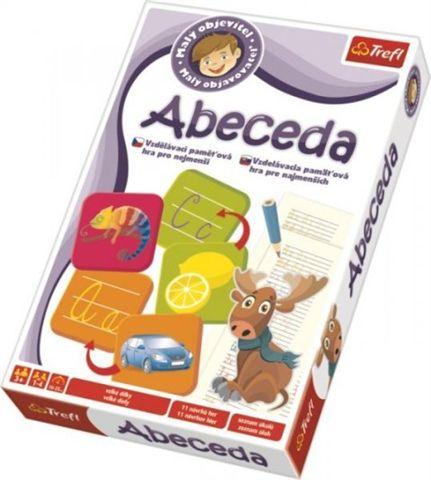 TREFL - Spoločenská hra - abeceda