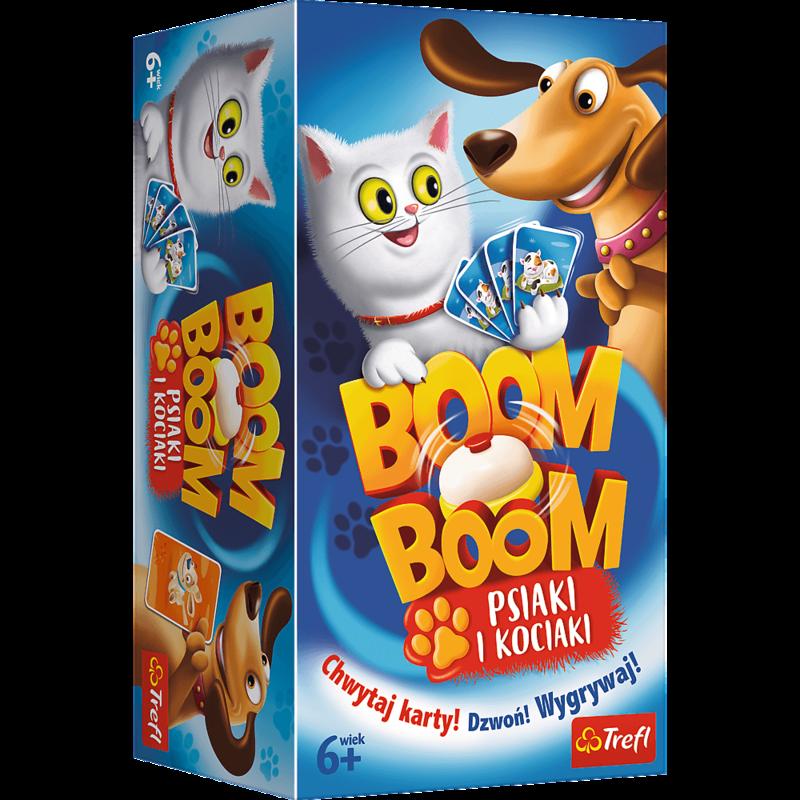 TREFL - spoločenská hra Boom Boom psy a mačky
