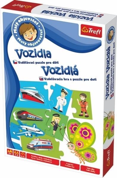 TREFL - Tefl hra Malý objaviteĺ vozidiel