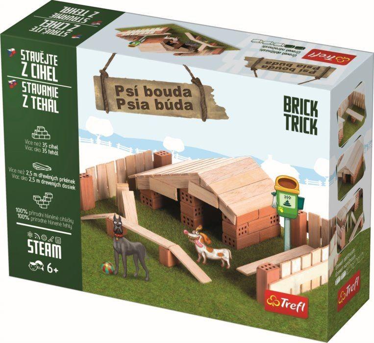TREFL - Tehlová stavebnica Búdka pre psa