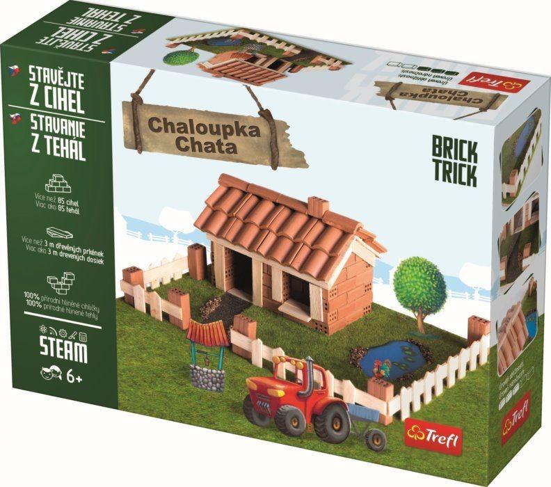TREFL - Tehlová stavebnica Chata