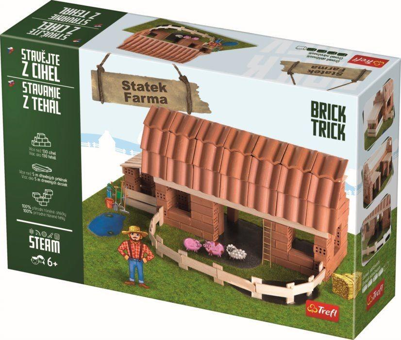 TREFL - Tehlová stavebnica Farma