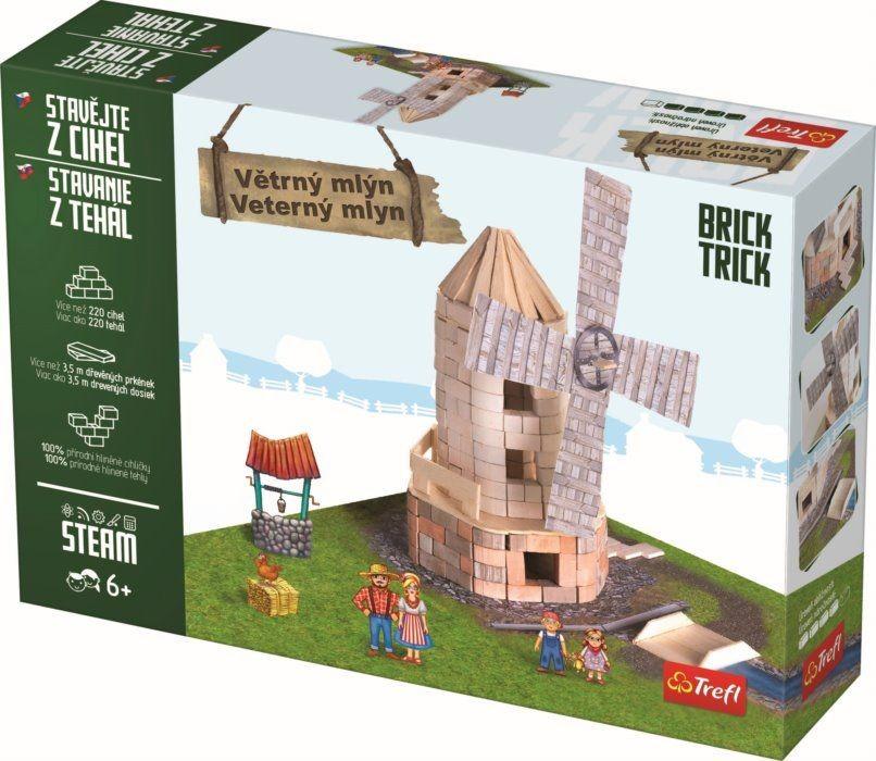 TREFL - Tehlová stavebnica Veterný mlyn