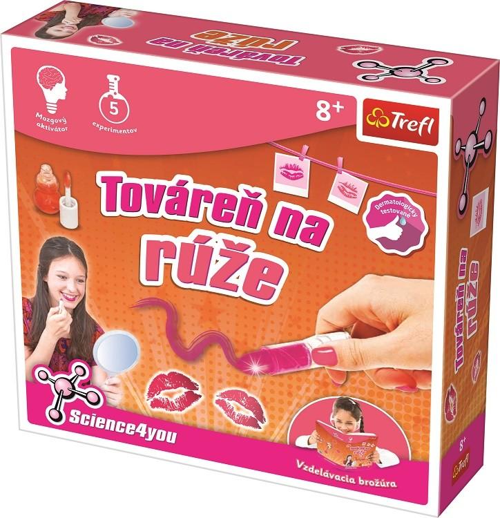 TREFL - Výroba rúžov