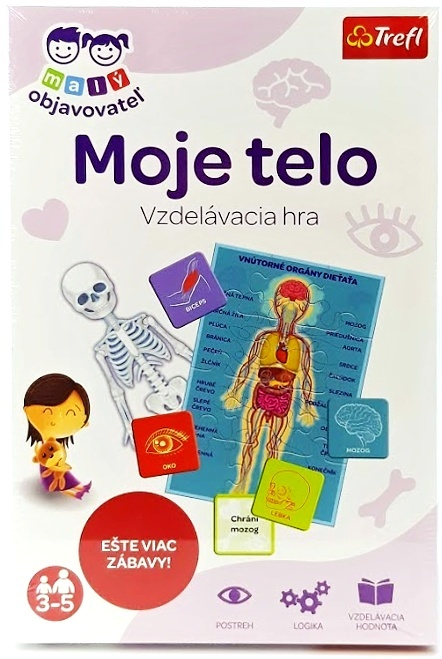 TREFL - vzdelávacia hra Moje telo