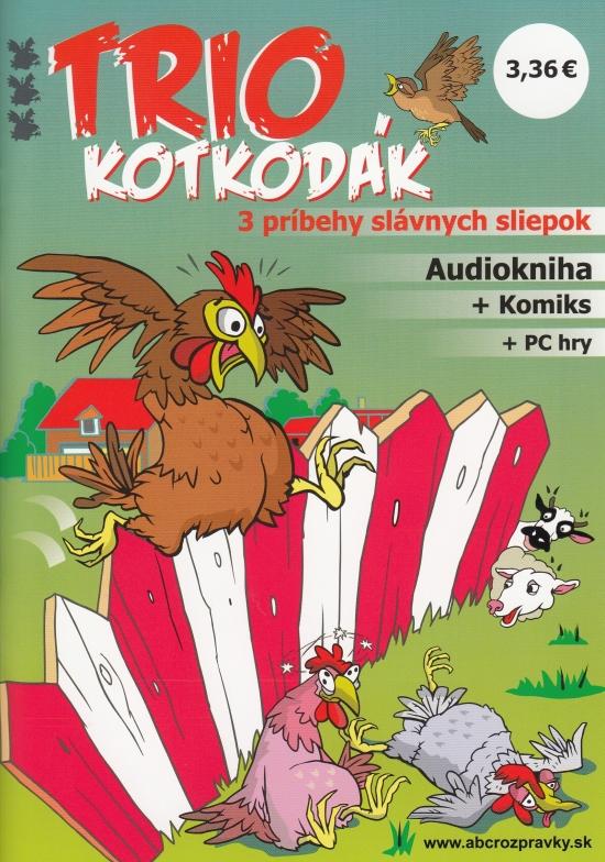 Trio Kotkodák (CD + Komiks) - Kolektív autorov