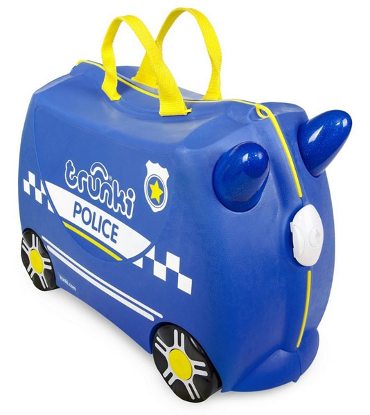 822ead92d8203 TRUNKI - Cestovný kufrík TRUNKI - Policajné auto - PERCY