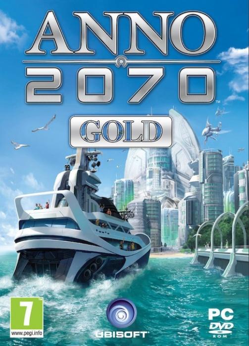 UBISOFT - PC ANNO 2070 Gold, Strategická hra pre PC, futuristické prostredie