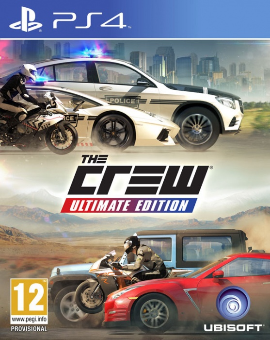 UBISOFT - PS4 The Crew Ultimate Edition