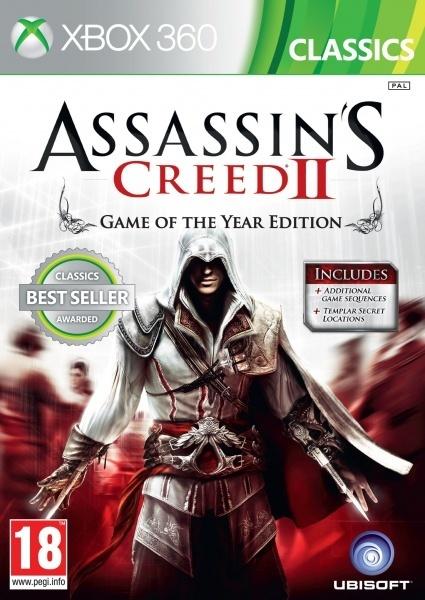 UBISOFT - X360 Assassins Creed 2 GOTY Classics