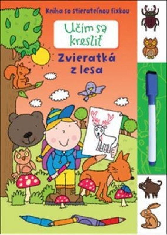 Ucim Sa Kreslit Zvieratka Z Lesa Market24 Sk
