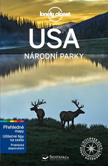 USA národní parky - Lonely Planet - Anita Isalska