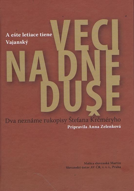Veci na dne duše - Anna Zelenková