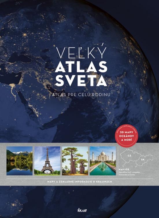 Veľký atlas sveta, 3. upravené a doplnené vydanie - Kolektív