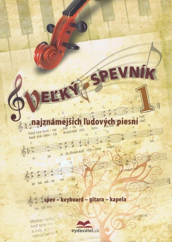 Veľký spevník najznámejších ľudových piesni 1 - Vladimír Dobrucký