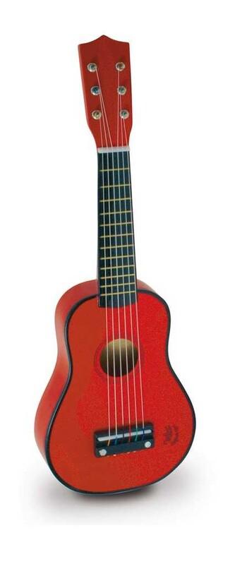 VILAC - Gitara akustická červena
