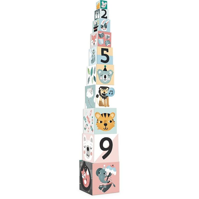VILAC - Skladacia veža z kociek Michelle Carlslund