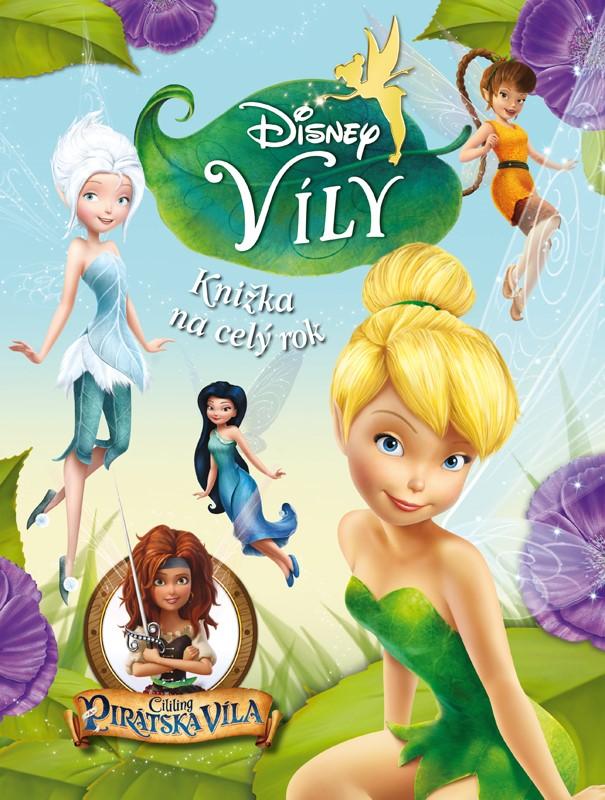 Víly - Cililing a pirátská víla - Knižka na celý rok - Walt Disney