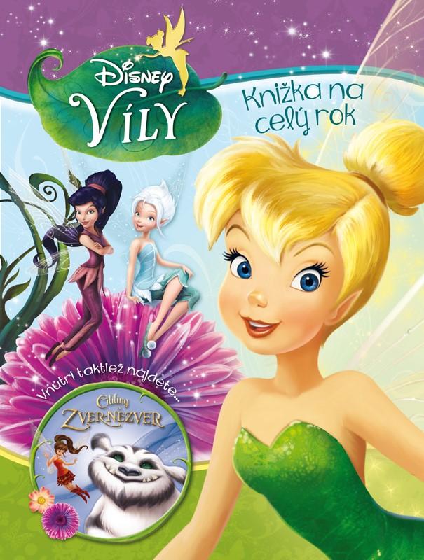 Víly - Knižka na celý rok + Cililing a Zver Nezver - Walt Disney