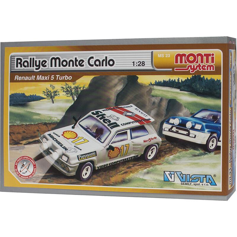 VISTA - Stavebnice Monti 23 Rallye Monte Carlo