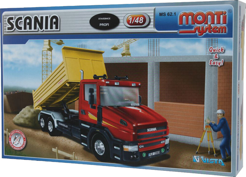 VISTA - Stavebnice Monti 62.1 Scania