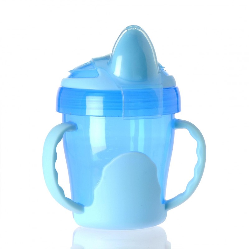 VITAL BABY - Detský výučbový hrnček 200 ml, modrý