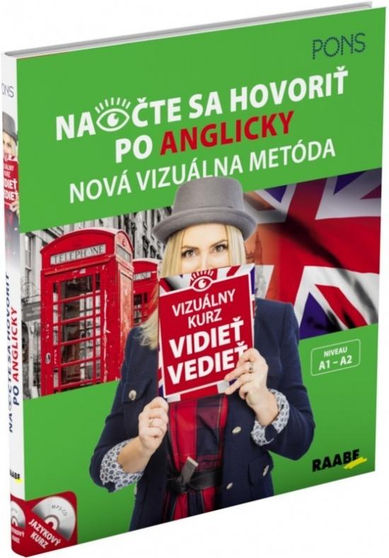 Vizuálny jazykový kurz (A1-A2)-Pons-Naočte sa hovoriť po anglicky - Priscilla Lavodrama
