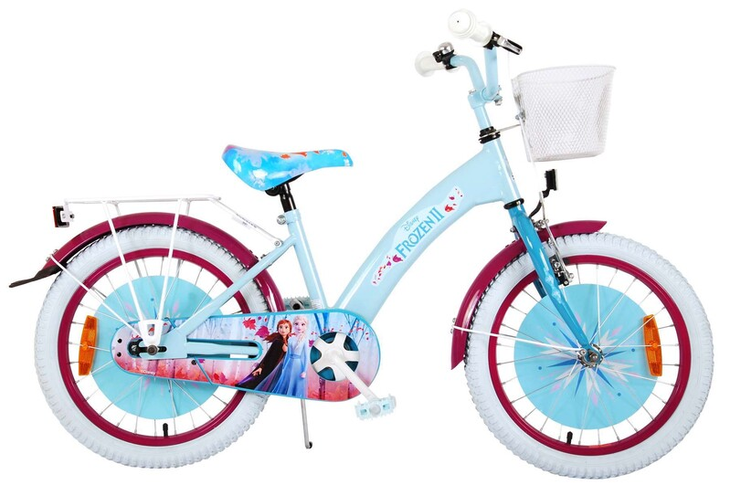 "VOLARE - Detský bicykel 18"" Disney Frozen 2 Blue / Purple"
