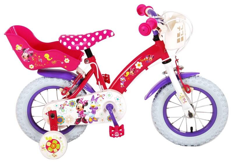 "VOLARE - Detský bicykel, Disney Minnie Bow-Tique 12 """