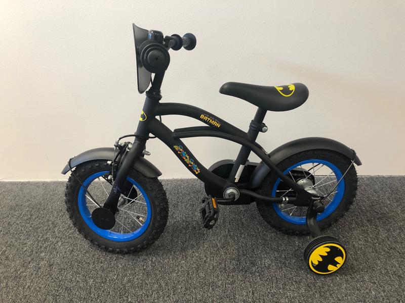 Volare - Detský bicykel pre chlapcov , Batman, 12 - bazár