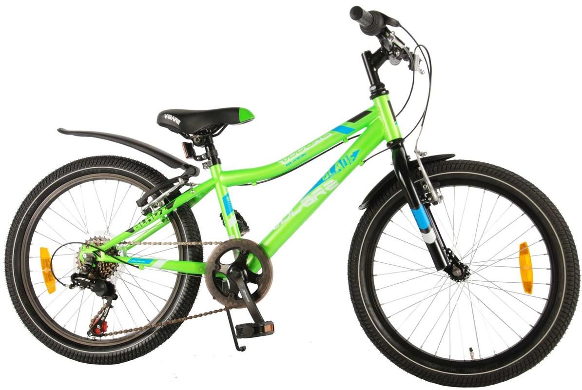 """VOLARE - Detský bicykel pre chlapcov Blade,6 stupňový - zelený, 20"""" - zložený na 95 %"""